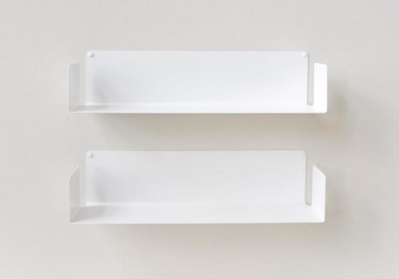 "Modulares Regalsystem ""U"" - 60 cm - Set mit 2 - Stahl"
