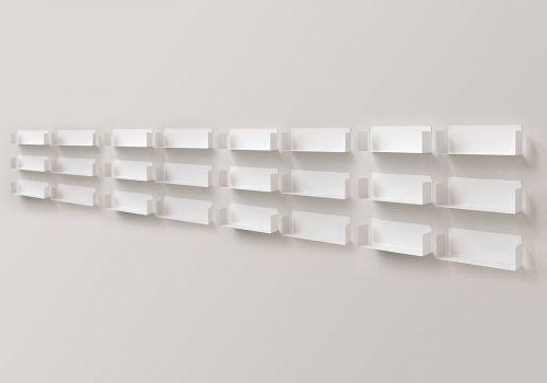"""Floating shelves """"U"""" - Set of 18"""