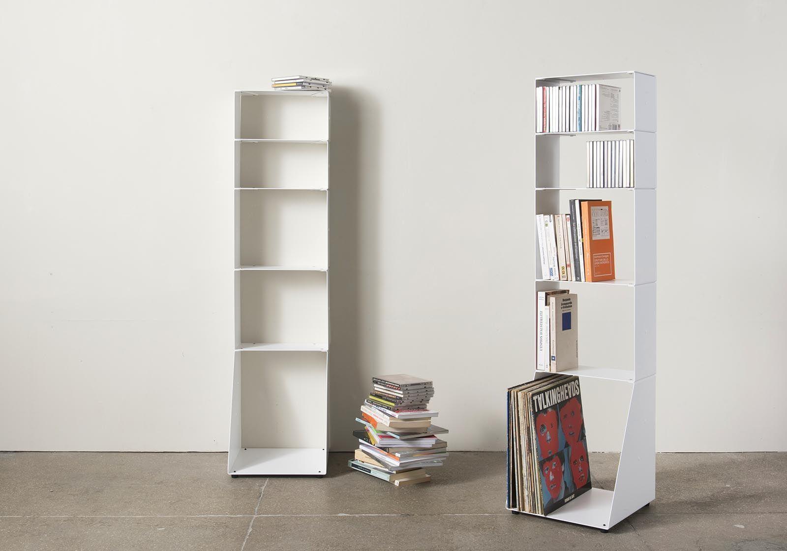 biblioth que design 30 cm livre cd et vinyle 5 niveaux. Black Bedroom Furniture Sets. Home Design Ideas