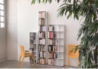 Bibliothèque livre 4 niveaux 60x100x15 cm