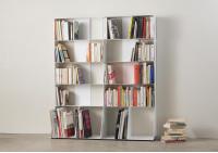 Bibliothèque livre 3 niveaux 60x85x15 cm