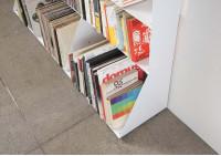 Bibliothèque livre 7 niveaux 60x150x15 cm