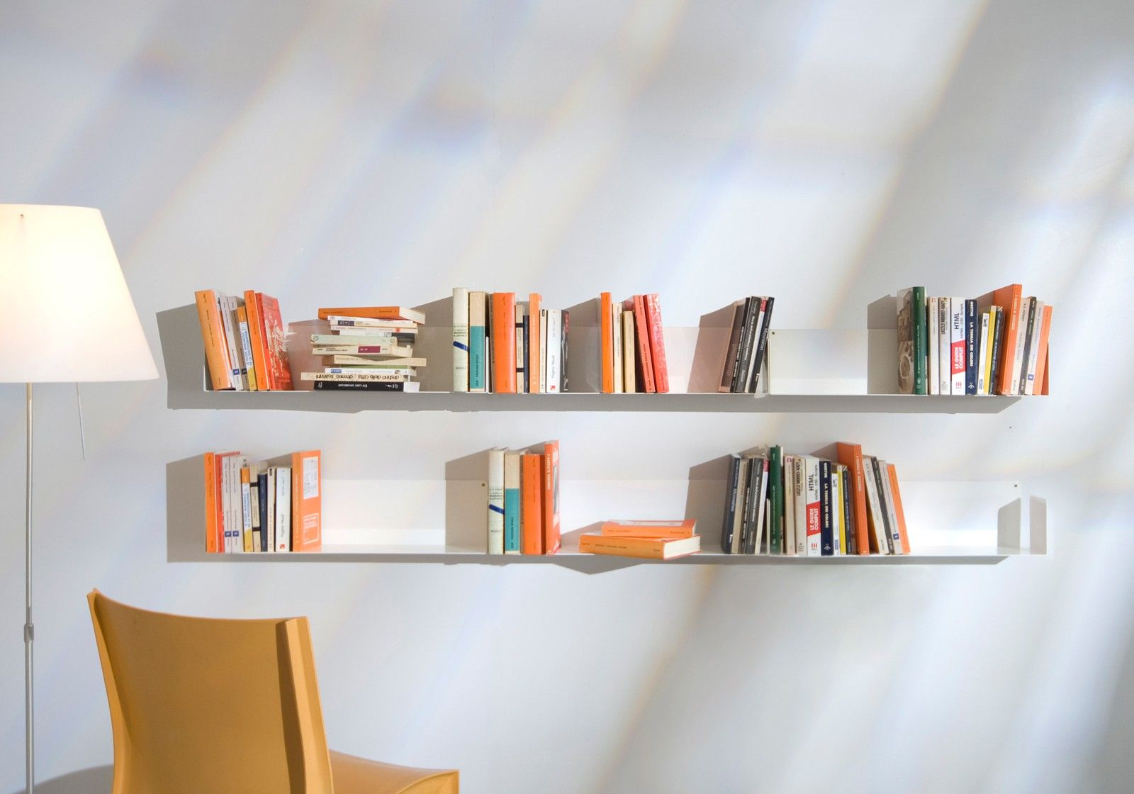 Bookshelves design lineaire - Etagere mural design ...
