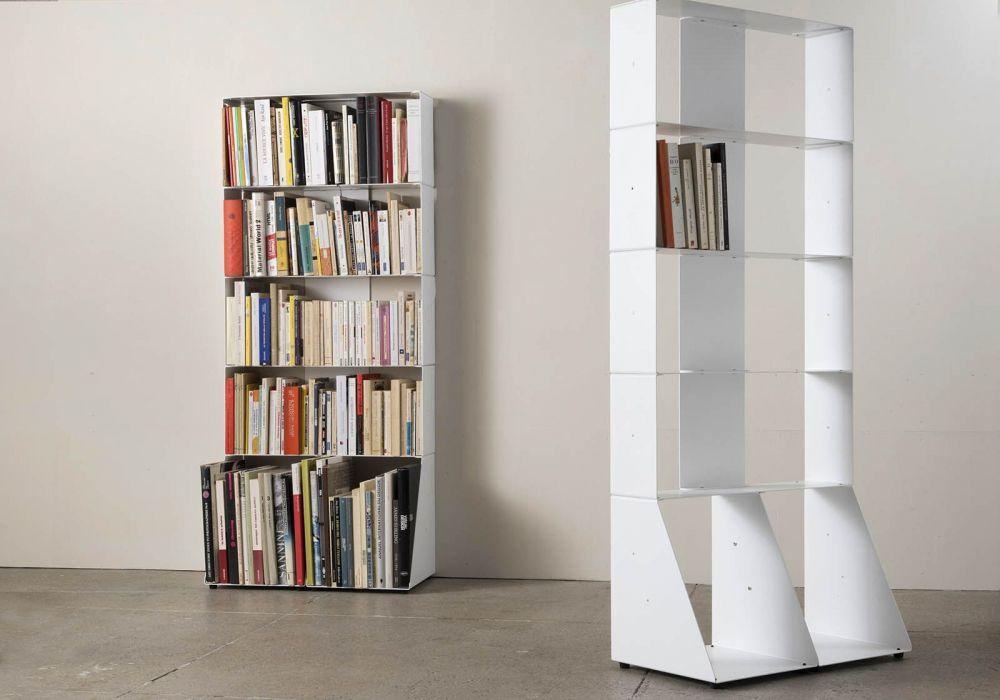 Bibliothèque livre 5 niveaux 60x135x15 cm