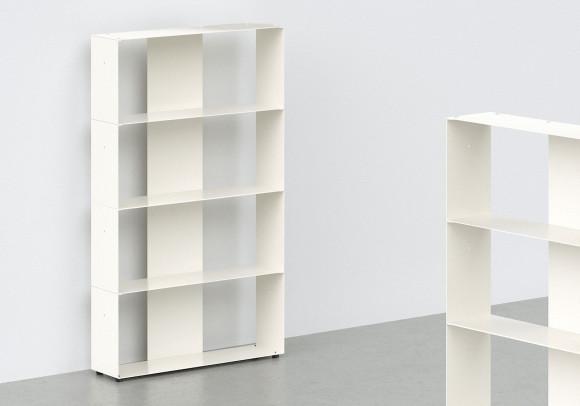 Mobile Libreria per libri L60 H100 P15 cm - 4 livelli