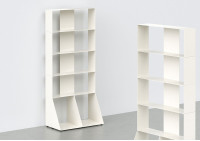 Libreria per libri 5 livelli L60 H135 P32 cm