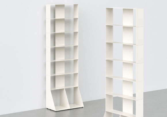 Narrow Bookshelf W60 H185 D32 cm - 7 shelves