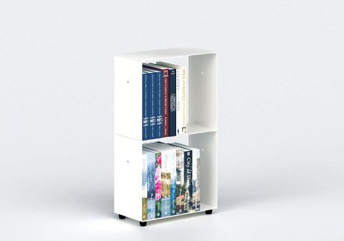 Small Bookcase W30 H50 D15 cm - 2 shelves