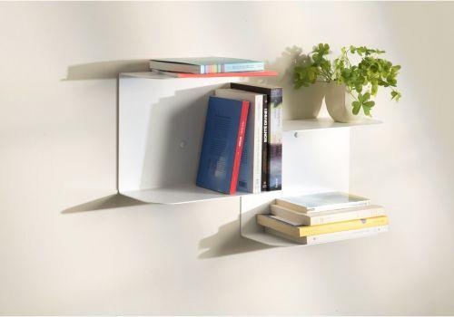 Étagère design blanche - L60 cm