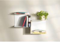 Mensole design bianche - L60 cm