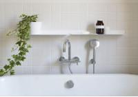 Estantes de pared el baño 45 cm - Juego de 2