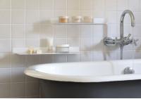 Estantes para el cuarto de baño 60 cm - Juego de 2