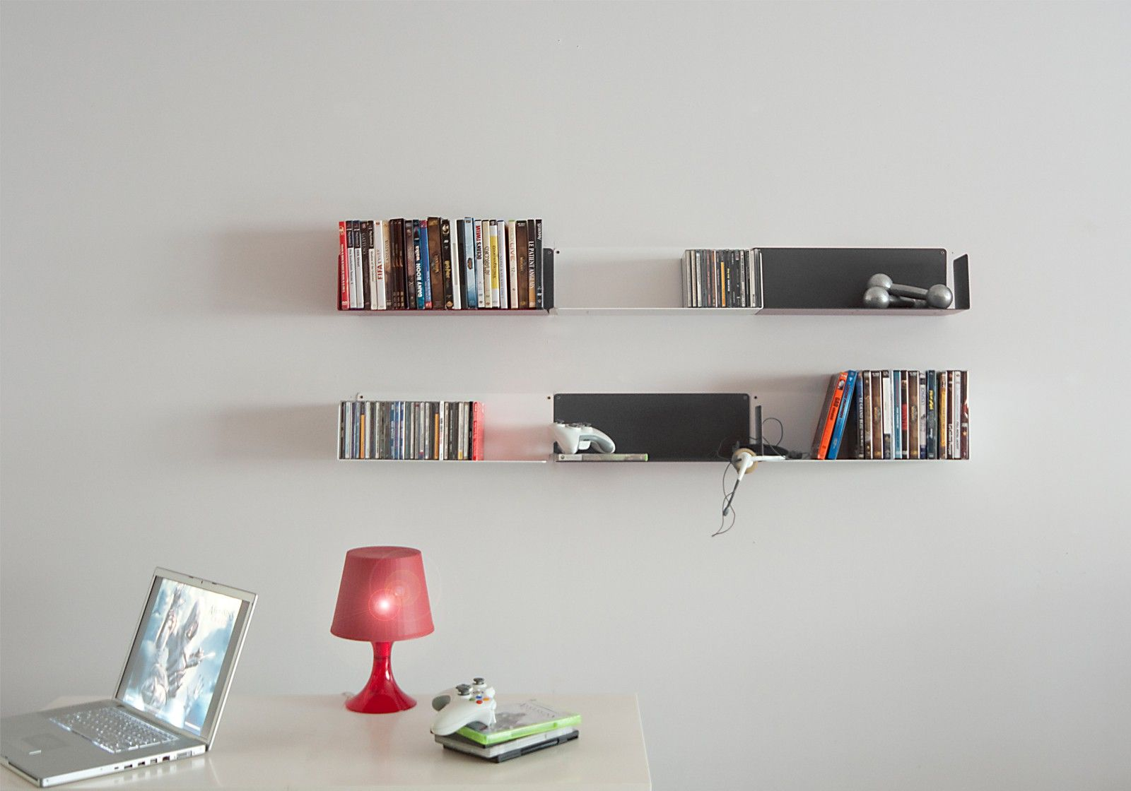 Biblioth que design buren tag re murale teebooks for Etagere pour bibliotheque murale