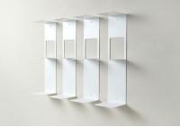 Étagère pour livres - Bibliothèque verticale 60 cm - Lot de 4