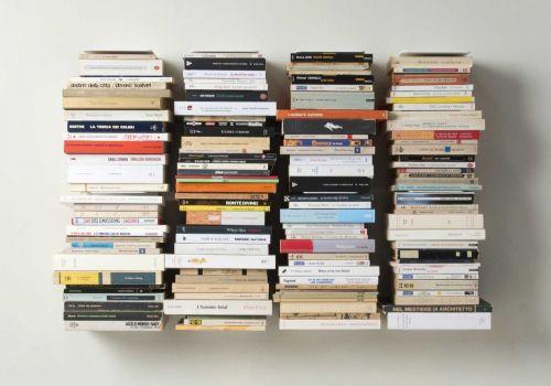 "Mensola per libri ""U"" - 60 cm - Acciaio"