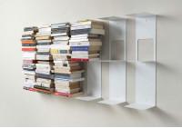 Étagère pour livres - Bibliothèque verticale 60 cm - Lot de 6