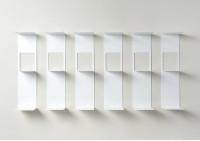 Bücherregal - Vertikales Bücherregal 60 cm - Satz von 6