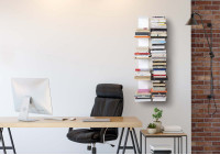 Bücherregal - Vertikales Bücherregal 60 cm - Satz von 2
