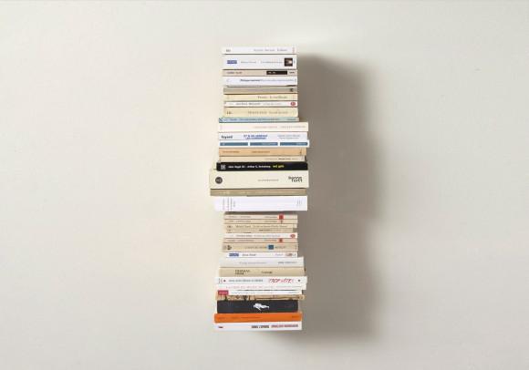 Étagère pour livres - Bibliothèque verticale 60 cm