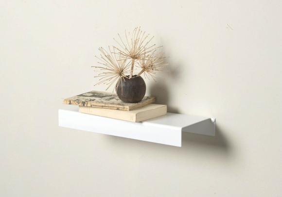 Wandboard – Weißes Metall 45 cm