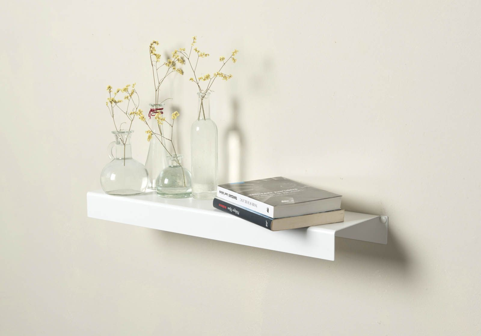 469 wall shelf white metal 2362 inch