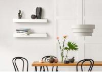 Wall Shelf - white metal 23,62 inch
