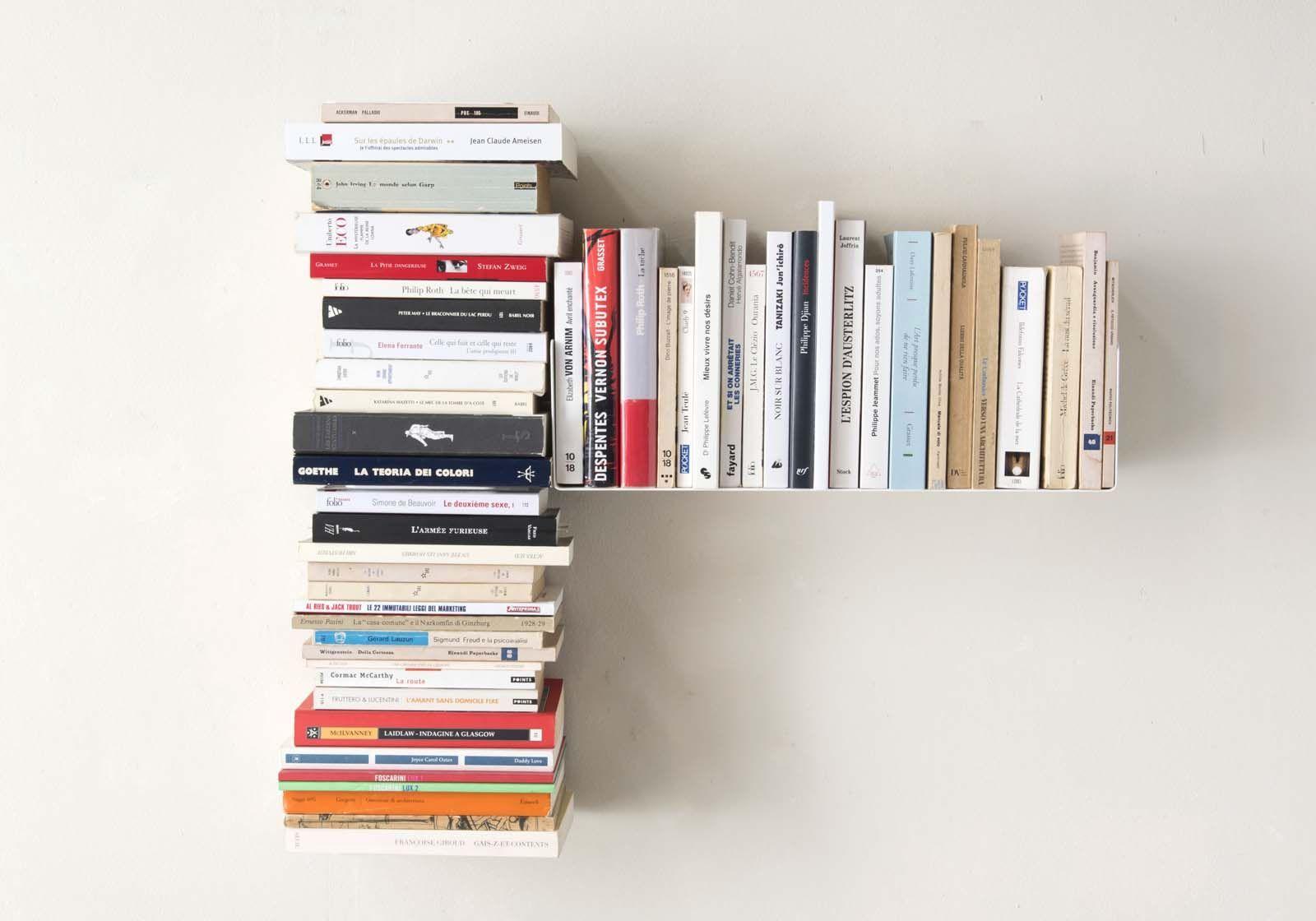 "Asymmetrical bookshelf ""T"" RIGHT"
