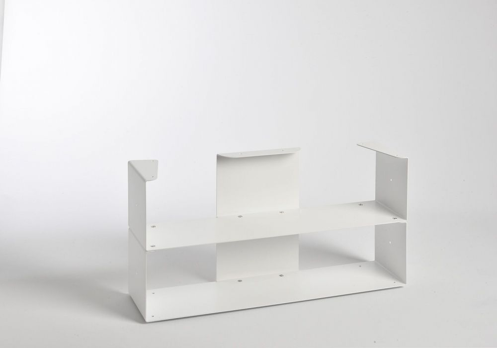 Range cd 60 cm - 2 niveaux - Sans Top