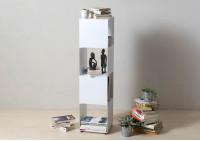 Étagère cube - Meuble colonne en acier - 4 niveaux
