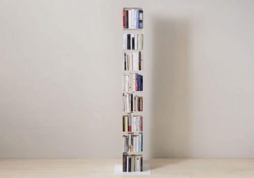 Étagère cube - Meuble colonne en acier - 8 niveaux
