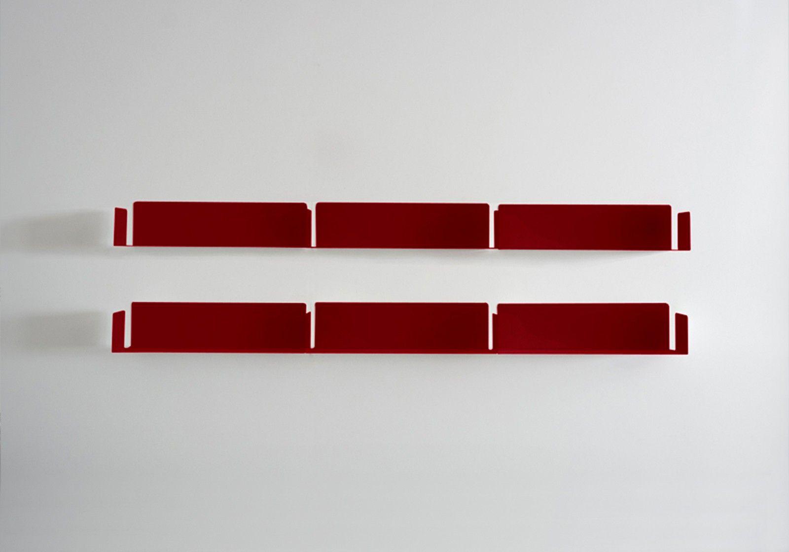 """Bookshelves  """"LINEAIRE""""  Red"""