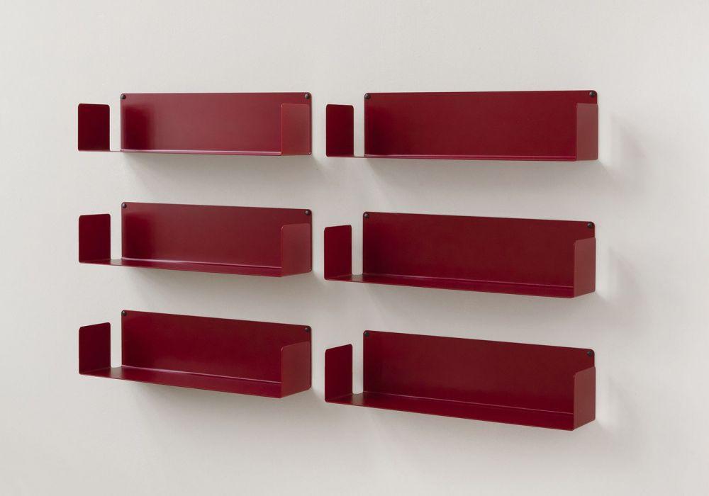 DVD-Regalen - Set mit 6 - 60 cm - Stahl