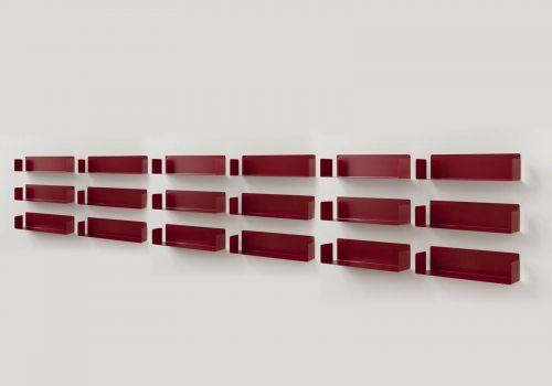 """Floating shelves Red """"U"""" -..."""