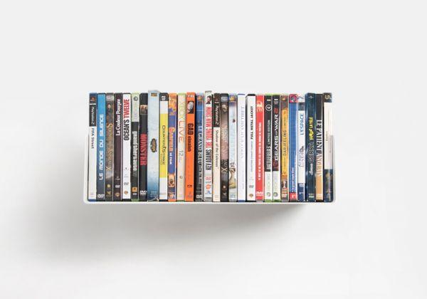 Étagère rangement DVD